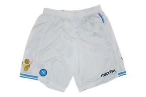Gr Neu Napoli Hose Shorts Sportswear Macron Ssc Weiß Sporthose Xxl pqOYp1x
