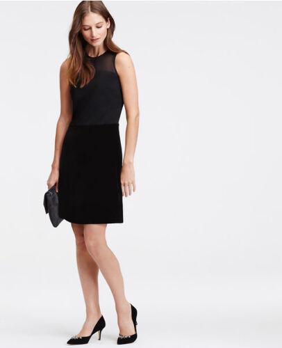 Rock Schwarz 12 – Ann Taylor Kleid groß Größe Samt Xq0TgwUT