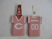 Chicago Bears Pink Neoprene Bottle Jersey Holder