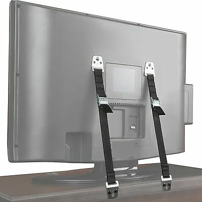 Safety Baby Metal Furniture / TV Straps - Earthquake Proof - Hardware Included 628893110578   eBay