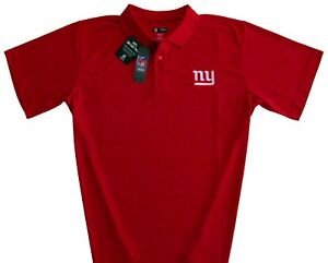 New-York-Giants-NFL-Men-039-s-Classic-Dri-Fit-Polo-Shirt-Red-Big-amp-Tall-Sizes-NWT