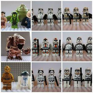 Star-Wars-Last-Jedi-Storm-Clone-soldat-Mini-Figures-Dark-vador-han-Fit-LEGO