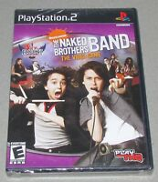 The Naked Brothers Band Video Game For Playstation 2 Brand Factory Sealed