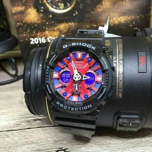 Gshock-Watch-Black-red