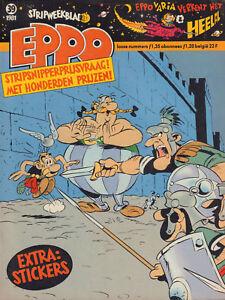 STRIPWEEKBLAD-EPPO-1981-nr-39-ASTERIX-COVER-STORM-STEVEN-SEVERIJN