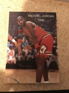 1990-MICHAEL-JORDAN-NBA-Promo-ALL-STAR-2-NMMT-Chicago-Bulls-The-Last-Dance-Card