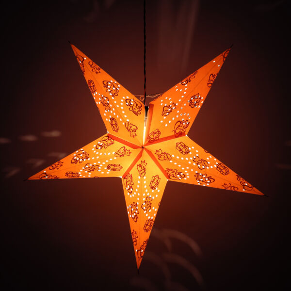 star hanging light christmas party festive light tap to expand