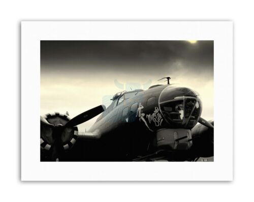 MEMPHIS BELLE AEROPLANE Picture Vintage Canvas art Prints