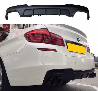 BMW F10 F11 M sport M5 quad M performance rear bumper diffuser matte black UK