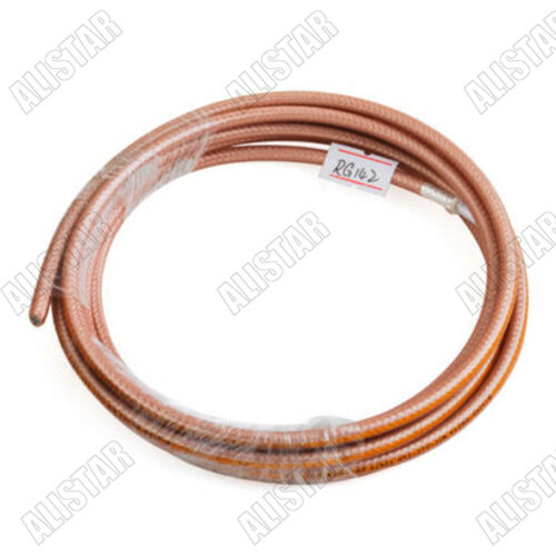 6 Meters RF Coaxial Cable Adapter Connector Coaxial Cable M17//60-RG142 20Ft
