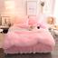 Doona-Quilt-Cover-Set-Luxury-Plush-Shaggy-Duvet-Faux-Fur-Home-Pillow-Case-Sheet miniature 3