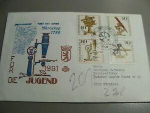 Ersttagsbrief-10-04-1981-FUR-DIE-JUGEND-1981-Mikroskop-1790