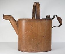 Victorian toleware hot water can. Capacity 12 pints. Kitchenalia.