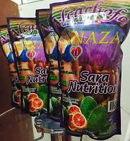 4 Pieza Pack Alcachofa Linaza Flax Seed Sara Nutrition Colon Cleanse 14oz