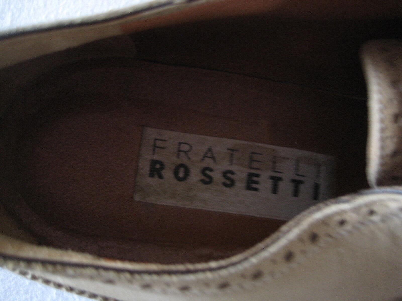 Fratelli Rossetti Rossetti Fratelli vintage sand suede lace-ups, Größe 41 approx. bbfc08