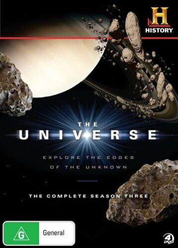 1 of 1 - The Universe : Season 3 (DVD, 2011, 4-Disc Set)