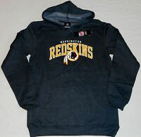 Washington Redskins Hooded Sweatshirt Hoodie Youth Xl (18) Charcoal Gray