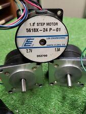 3 X Nema 23 Stepper Motor 18 Degree 200 Steps 15 A 27 V