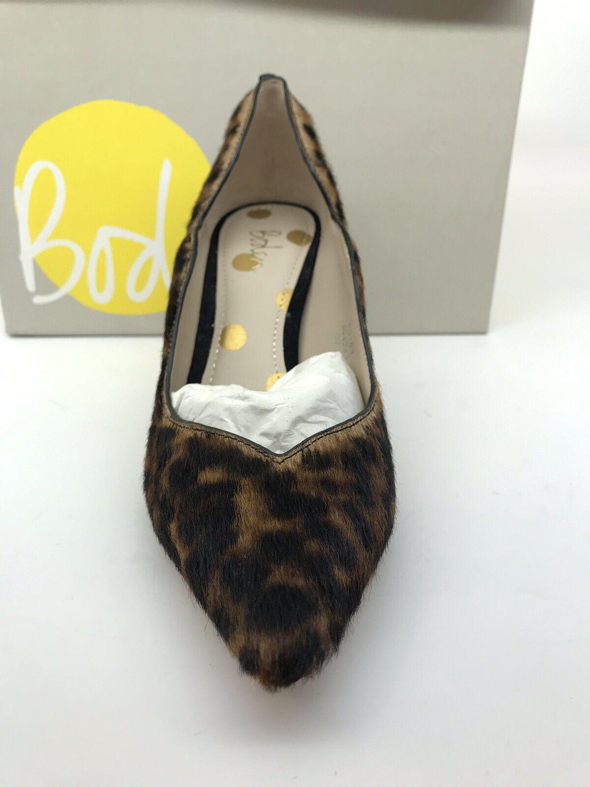 Boden Madison Heels Leo Leopard Print Calf Hair Pump Größe Größe Größe 7 US 37.5 EU 50cca8