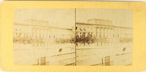 Francia-Parigi-La-Moneta-Da-Parigi-Foto-Stereo-Vintage-Albumina-PL62L7n1