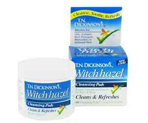 Dickinson-039-s-Hazelets-Witch-Hazel-Pads-60-ea-Pack-of-3