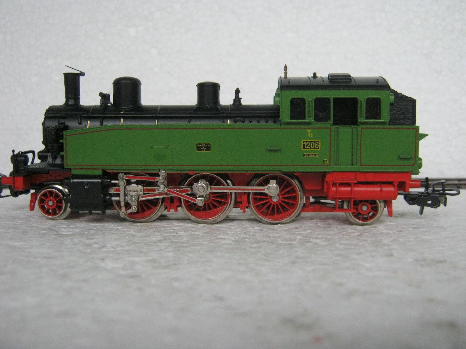 HO 3312 locomotiva T 5 btrnr 1206 Württemberg  co/65-40r7/16