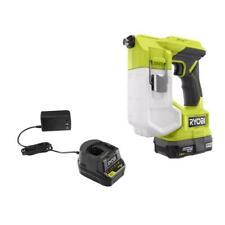Ryobi Cordless Handheld Sprayer Kit 18 Volt 15 Amp Battery Charger