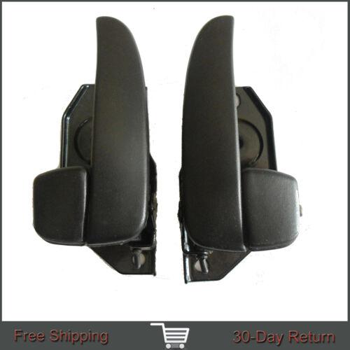 Fit 01-05 Hyundai Sonata inside Interior Front Left Right Side Black Door Handle