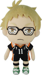 97187b3071d Image is loading Haikyuu-8-039-039-Tsukishima-Kei-Plush-Anime-