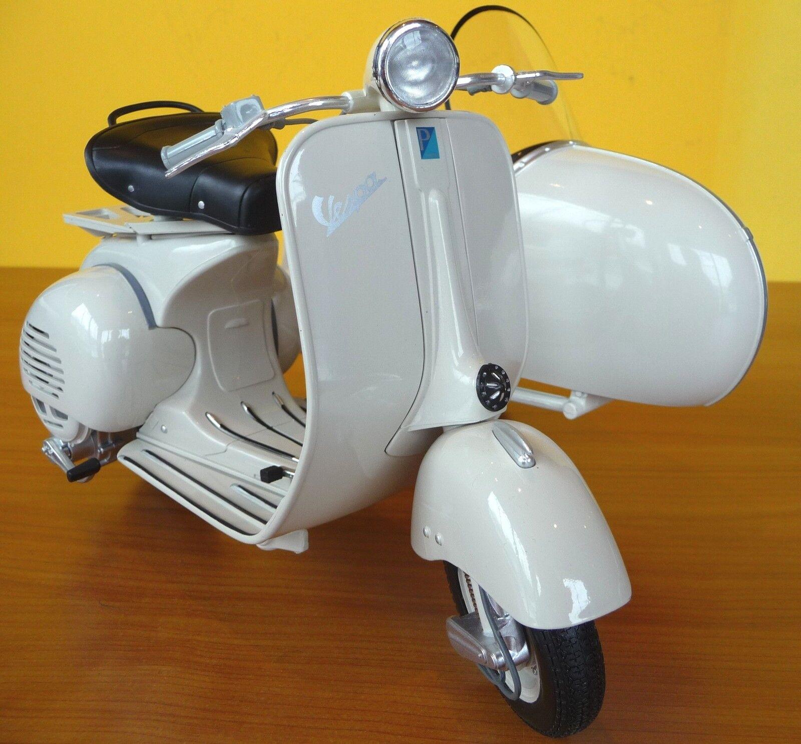 Stand Modèle PIAGGIO VESPA 150 vl1t avec side-car l'année de construction 1955 in 1 6 Scooter 48993