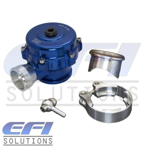 """11Psi With 1.5/"""" Outlet Genuine Tial QR 50mm Blow off Valve BOV Blue"""