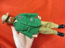 1964 VINTAGE GI JOE JOEZETA: GINGER RED WOLF HEAD WHITE TIGER JOE ! ! !