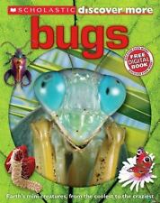 NEW Scholastic Discover More: Bugs by Penelope Arlon Hardcover Book (English)
