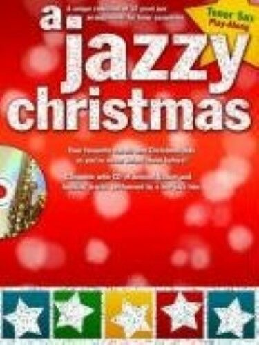 A Jazzy Christmas Tenor Saxophone Tsax Book/Cd, New Books