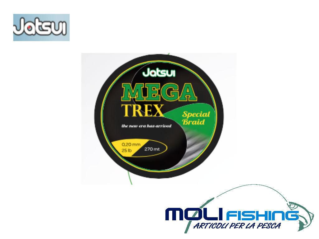 MULTIFIBRA JATSUI MEGA TREX DIAMETRI SCELTA BOBINA 270/600/1000 M SPINNING TRAIN TRAIN SPINNING 8f9a63