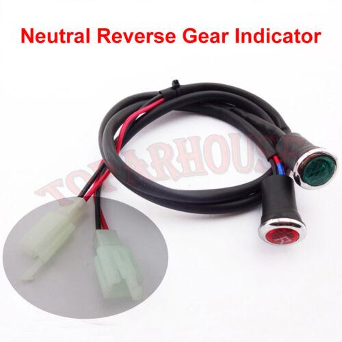 Neutral Rückwärtsgang Licht Indikator Für ATV Quad 50cc 110cc 125 150 200 250cc