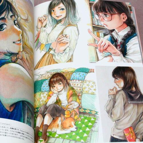 ANIME MANGA ARTBOOK NEW Girls Art Illustrator File