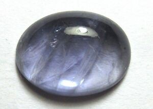 Natural Iolite Loose Gemstone 13.7X10MM Oval Cabochon 4.50-Carats S140