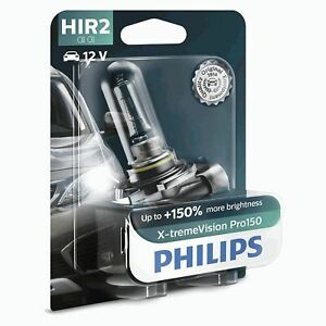 Philips X-tremeVision Pro150 Xtreme Vision Pro 150 Headlight Bulb HIR2 Single