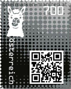 Crypto-Stamp-2-0-Postfrisch-Lama-Schwarz-AUSVERKAUFT