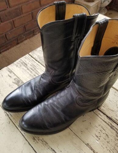 Taille 10 Western Justin Boots Pour États Homme Aux Noir Unis Homme BFabriqué 0Ov8mnwNy