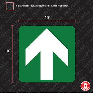 2X-GREEN-ARROW-sticker-vinyl-decal