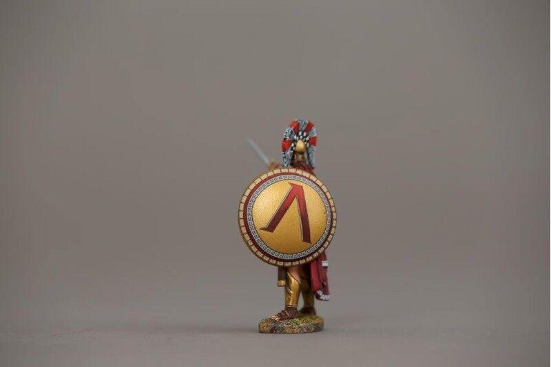 THOMAS GUNN SPA017A - Officer (Lambda Shield) Painted Metal