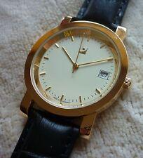 Herrenuhren - Ronda Quarzwerk schweizer Uhrenwerk mit Datum - Made in Germany