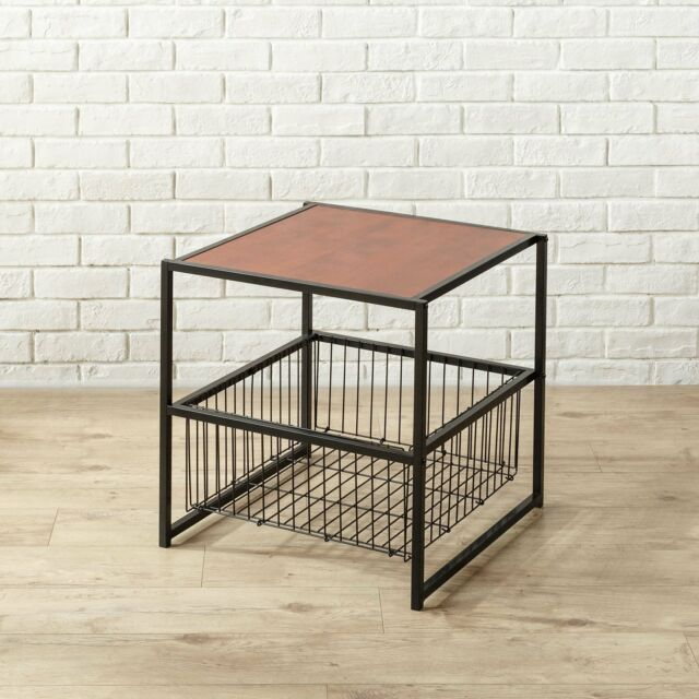 Square Coffee Table Swooping Metal