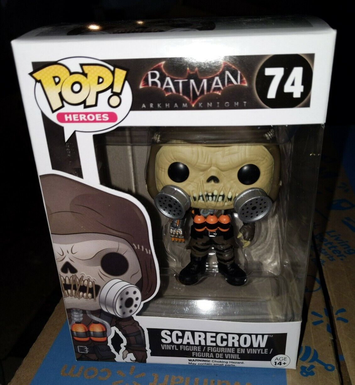 Pop Heroes Batman 74 Scarecrow figure Funko 6291