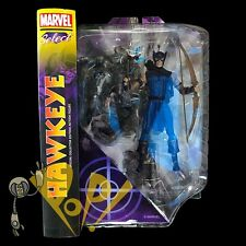 Marvel Select HAWKEYE Action Figure Classic COMIC Version Diamond Select DST!