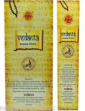 "Box of 15g SHUBH LABH BRAND ""Vedanta"" Incense Sticks - 15 Sicks"