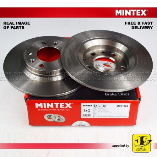 2X Mintex Frenos de Disco Trasero Isuzu Impulse Mazda 6 Gg Gh Gy 323 626 MX-5 PREMACY