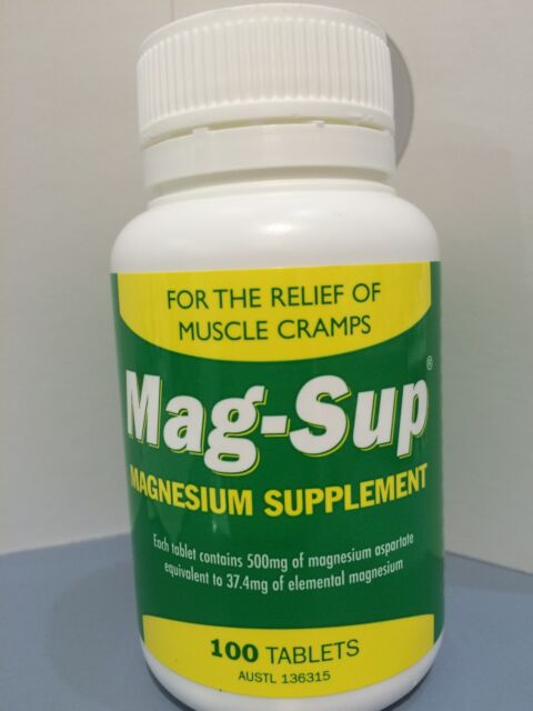 Mag-Sup 100 tablets Petrus Magnesium supplement MAGSUP